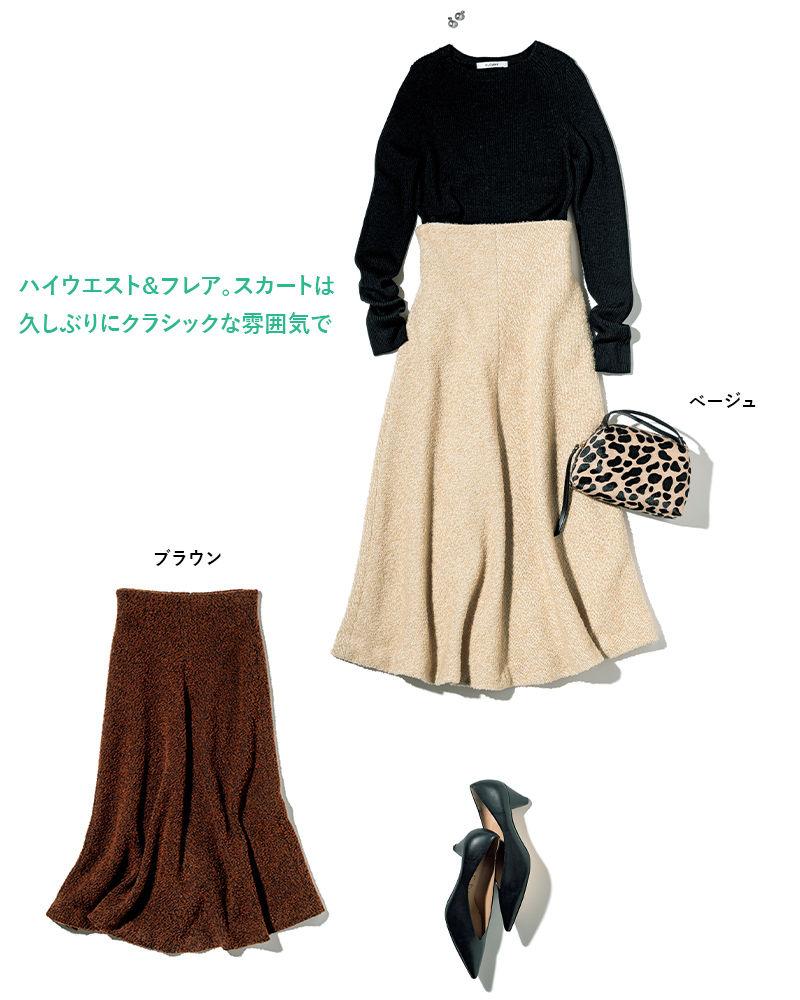 muller of yoshiokubo(ミュラー オブ ヨシオクボ) フレアスカート