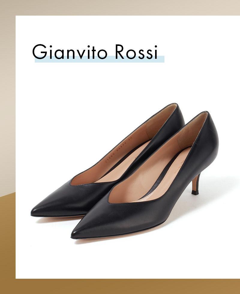 Gianvito Rossi PARIS 55 ポインテッドトゥパンプス