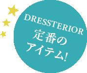 DRESSTERIOR定番のアイテム!