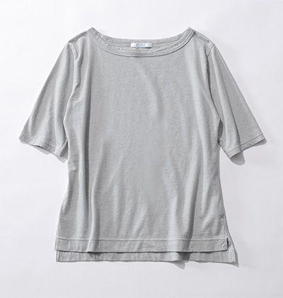 【玄長なおこさんコラボ】ボートネックTシャツ