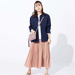 女らしいスカート