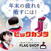 [ビックカメラ×集英社FLAG SHOP]年末の疲れを癒すには!