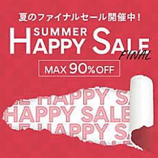 MAX90%OFF HAPPY SALE