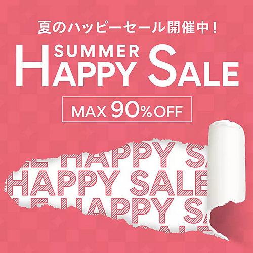 MAX90%OFF! HAPPY SALE FINAL!