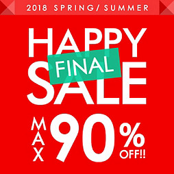 HAPPY SALE MAX90%OFF!!