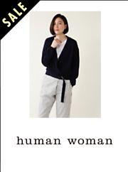 HUMAN WOMAN (ヒューマン ウーマン)
