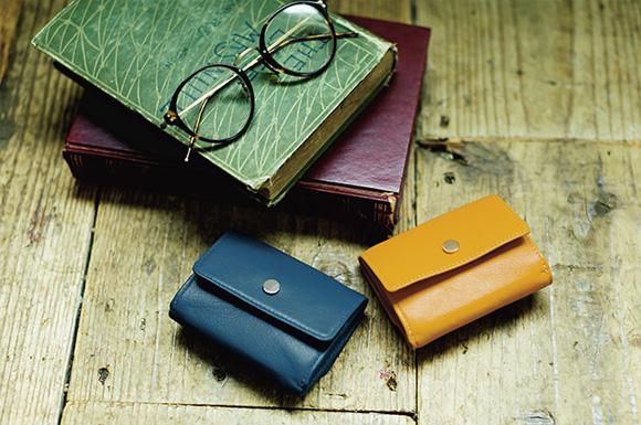 【浜島直子さん×12closet】高機能・ミニ三つ折り財布