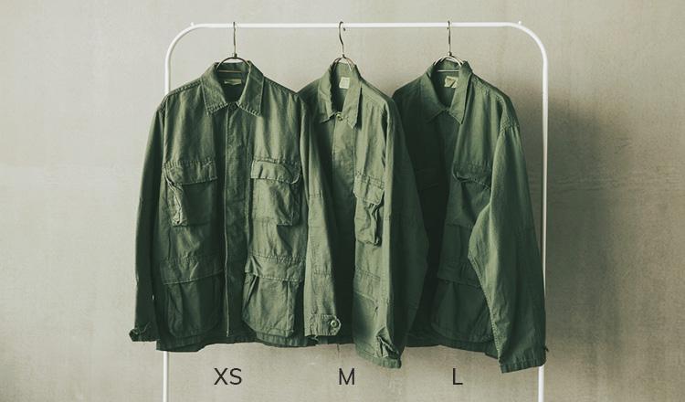 ミリタリージャケット(XS/M/L)
