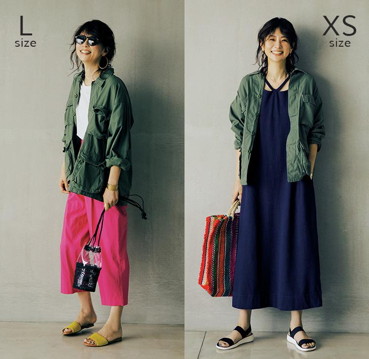 ミリタリージャケット(L size/XS size) LEE色別注