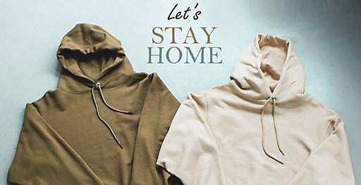 STAY HOME!気分も上がるおうち服