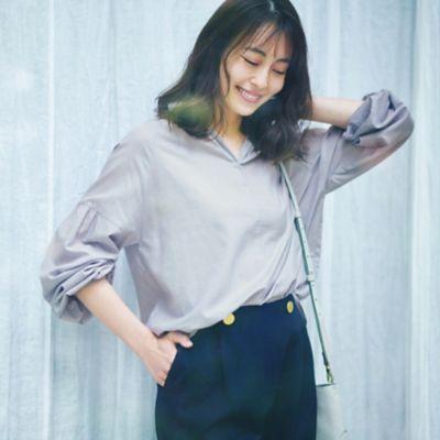 【LEE】LEE3月号でも注目!「ゆれ」素材&シルエットで日常着に「女らしさ」を!
