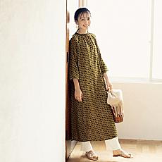 """柄、色、素材で先取り! 12closetの""""秋めき服"""""""