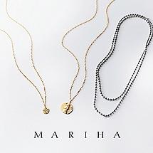 今どき感アップを約束!「マリハ」のネックレス