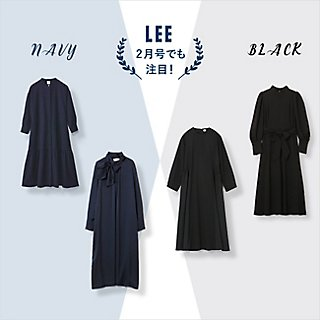 『ネイビー&ブラック』のきちんと服