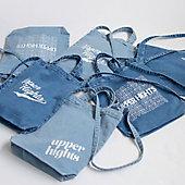 大人気のデニムブランド【upper hights】よりロゴ入りデニムトートバッグが入荷しました!