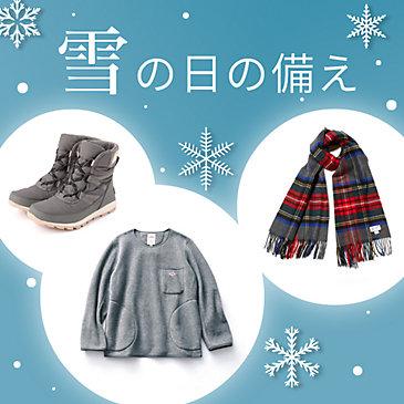 雪の季節の備え