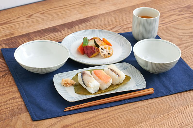 【長く愛用したい陶磁器】十草 とくさ 波佐見焼 | 日本で古くから親しまれてきたデザインでありながら和洋どちらにも合います