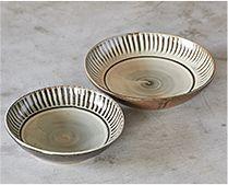 【長く愛用したい陶磁器】小石原ポタリー 浅鉢 | 浅鉢は大小の展開 煮物や汁気のあるおかずなどに重宝します