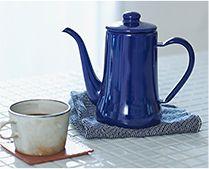 【インテリア雑貨特集】 月兎印 スリムポット |  コーヒーをおいしくドリップしてくれる必須アイテムとして、コーヒー愛飲家からも大人気