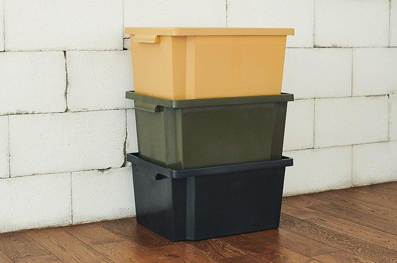 【インテリア雑貨特集】収納グッズ | HIGHTIDE ペンコ スタッキングコンテナー | 上に積み重ねることで収納が2倍3倍に増えるコンテナー