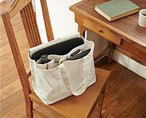 【インテリア雑貨特集】収納グッズ | Heming's ヘミングス ベーシックカラートート | 雑誌や傘・ペンケースなどを整然と収納