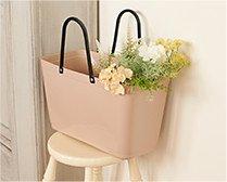 【インテリア雑貨特集】収納グッズ | Green Hinza ヒンザ Bag L | 洗える素材で自立もするのでアウトドアにも使えるバッグ