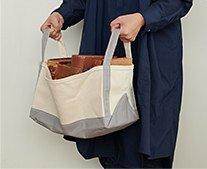 【インテリア雑貨特集】収納グッズ | TEMBEA テンベア ブックトート小 | トートバッグのデザインをそのまま収納グッズに
