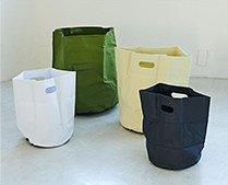 【インテリア雑貨特集】収納グッズ | HIGHTIDE ハイタイド タープバッグラウンドS 16L | 防水性のあるタープ生地を使用したバッグ