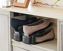 【インテリア雑貨特集】収納グッズ | like-it ライクイット くつホルダー10個入り | お気に入りの靴を省スペースで美しく収納