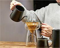 【インテリア雑貨特集】cores コレス ゴールドコーンフィルター&サーバー | コーヒーの味を損なわないゴールドフィルターを使用した見映えもバッチリのコーヒーツール