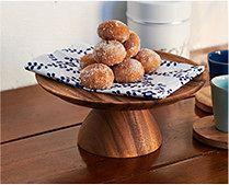 【インテリア雑貨特集】CHABATREE チャバツリー ケーキスタンド | 職人の手作業による美しいフォルムが特徴の木製ケーキスタンド