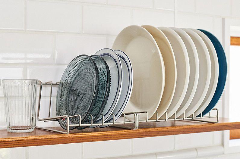【インテリア雑貨特集】家事問屋 ディッシュスタンド | お気に入りのお皿を立てて収納すればインテリアに早変わり