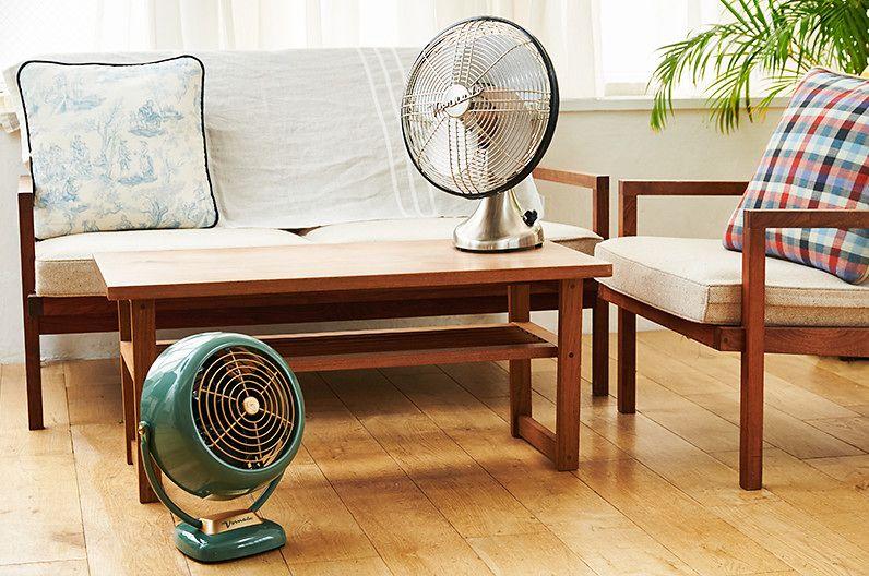 【インテリア雑貨特集】ボルネード シルバースワン (扇風機) | 置くだけで涼感あふれる、シンプルな扇風機
