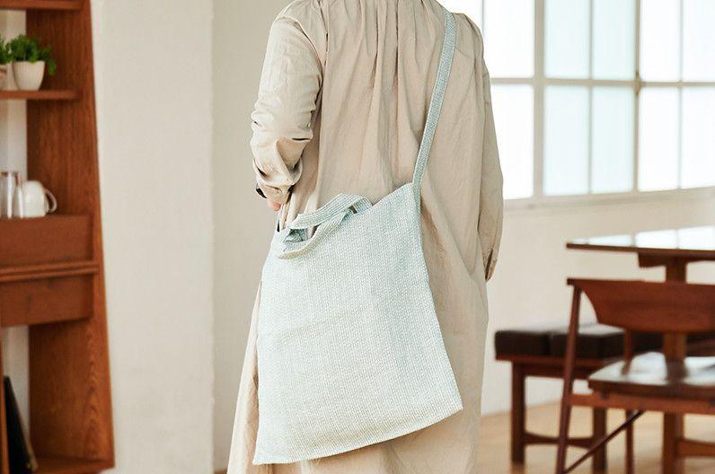 【インテリア雑貨特集】KARIN CARLANDER 2WAYバッグ | 2WAYで使える麻素材の爽やかなトートバッグ