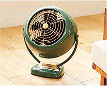 【インテリア雑貨特集】ボルネード VFAN2-JP (サーキュレーター) | 空気の入れ替えやエアコンの効率アップに使えるサーキュレーター