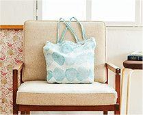 【インテリア雑貨特集】LAPUAN KANKURIT トートバッグ SADE(雨) | ヘルシンキ在住の日本人デザイナー吉澤葵さんデザイン