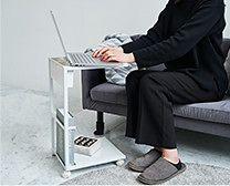 【インテリア雑貨特集】tower サイドテーブルワゴン | 心便利な機能が満載!収納力も抜群なサイドテーブル