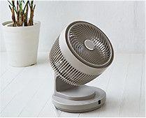 【インテリア雑貨特集】THREEUP 3Dターボサーキュレーター   13m先まで風が届く、大風量サーキュレーター