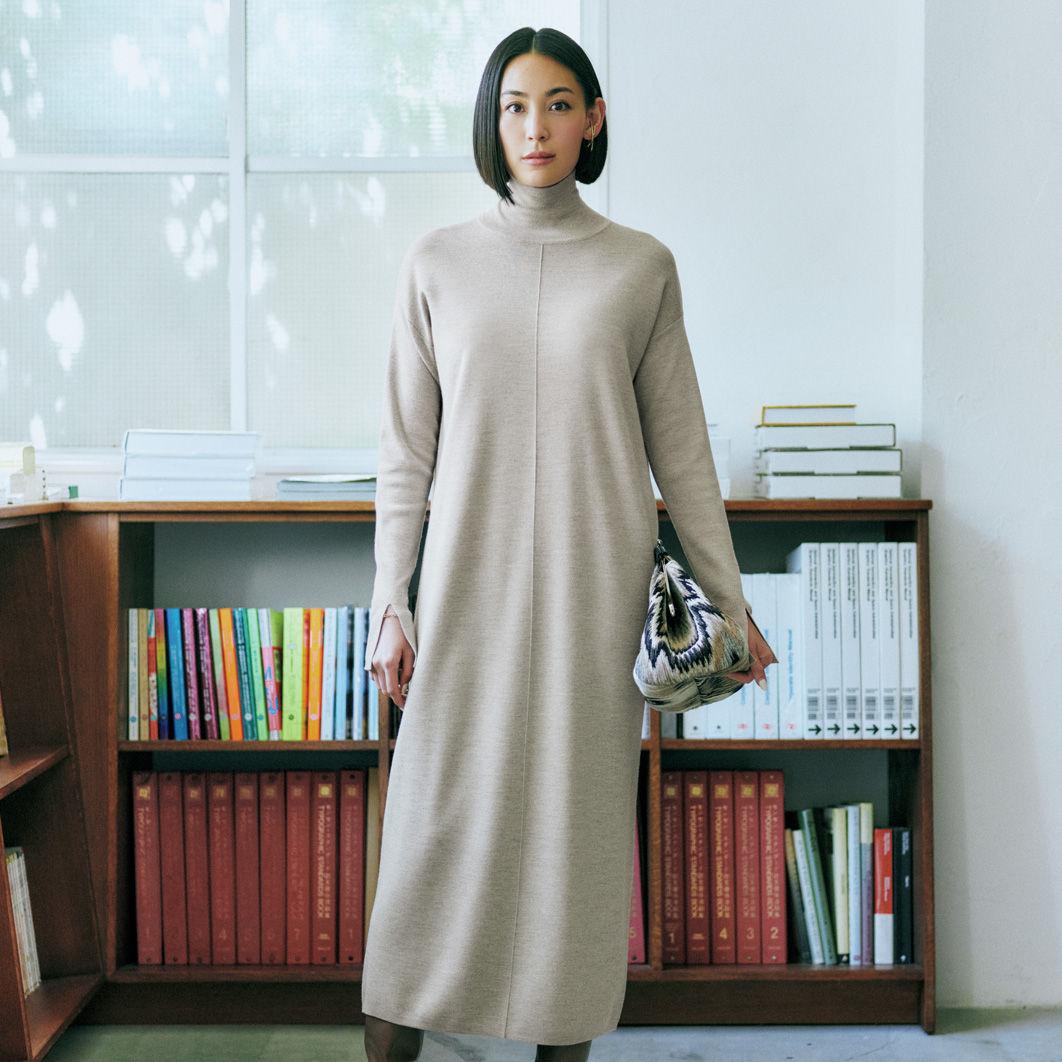 コートインに着る美人ワンピース 信頼4ブランドにエクラがスペシャルオーダー!