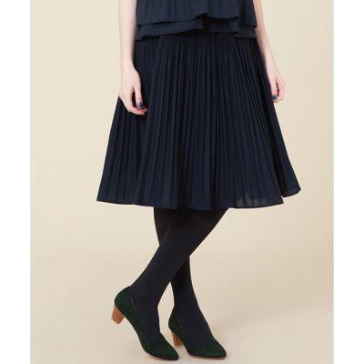 <集英社> プリーツミディ丈スカート画像