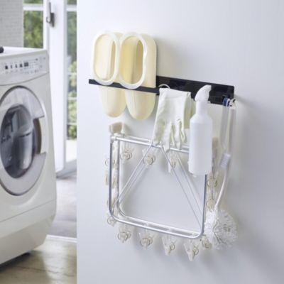 マグネット洗濯ハンガー収納ラック