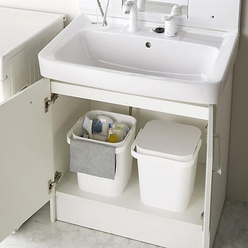 洗面下の収納に便利!