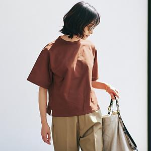 【洗える】ボックスシルエットTシャツ