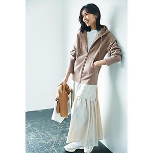 艶ティアードスカート¥16,000+税