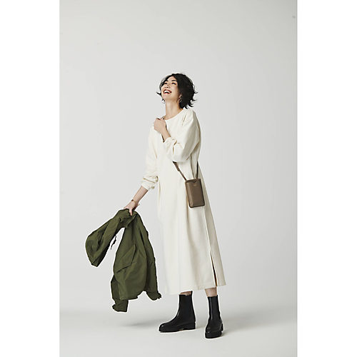 【森下メリヤス】コラボレーション スウェットワンピース¥23,000+税
