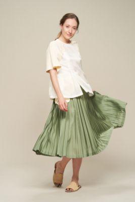 Rayon twill western skirt