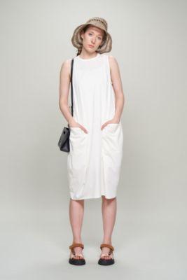 cotton jersey cushion dress