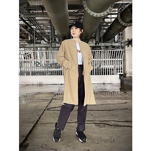 <全身イメージカット>suadeo/【TAION】コラボ 洗えるインナーダウンベスト付3WAYコート/¥14,300