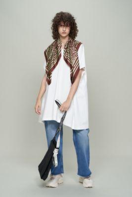 suvin royal jersey scarf T−dress
