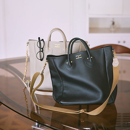 YOUNG & OLSEN The DRYGOODS STORE/EMBOSSED LEATHER D TOTE M/¥34,100